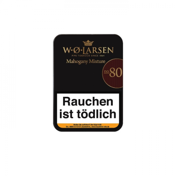 W. Ø. LARSEN MAHOGANY MIXTURE No. 80