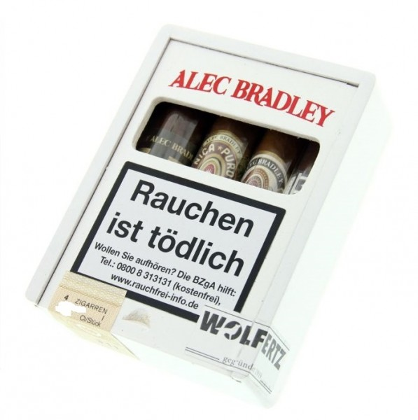 ALEC BRADLEY Taste of the World Short Robusto Sampler