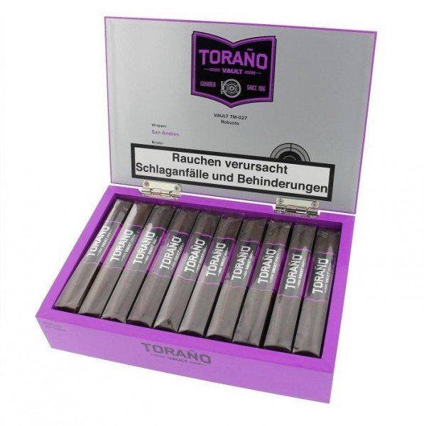 TORANO VAULT Purple TM-027 Robusto