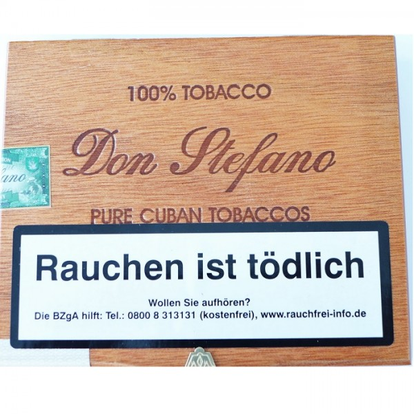 DON STEFANO Pure Tobaccos Cigarro Chico