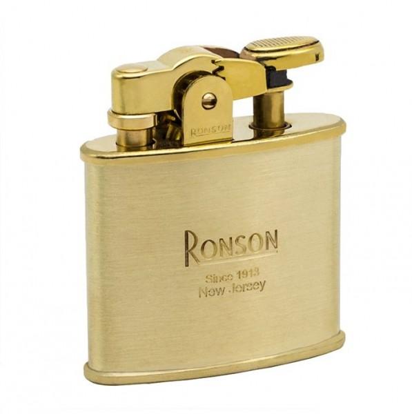 RONSON Benzinfeuerzeug Nostalgia Messing