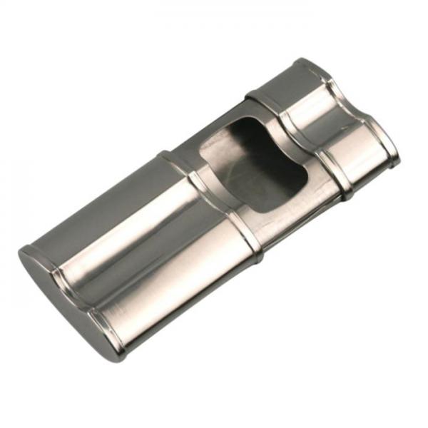 ANGELO Cigarren-Taschenascher Chrom #400801