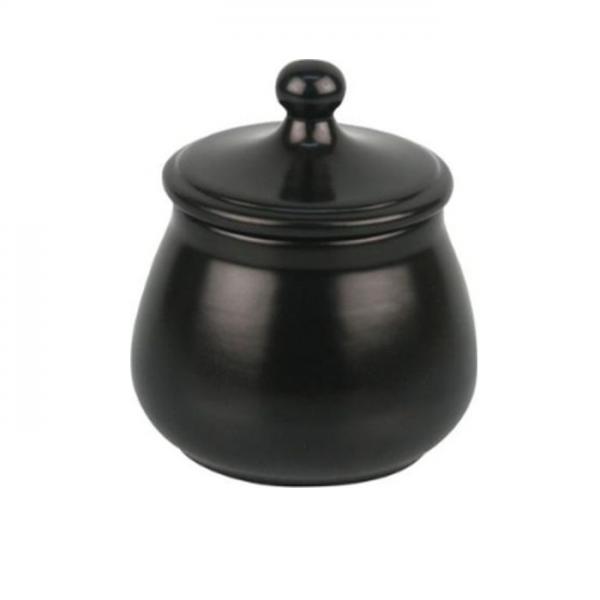 TABAKTOPF Keramik schwarz/matt #522004