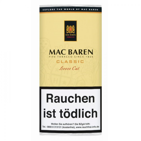 MAC BAREN Classic Loose Cut