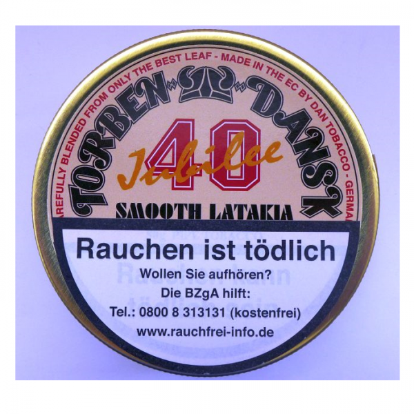 TORBEN DANSK 40 Jubilee Smooth Latakia by Dan Tobacco