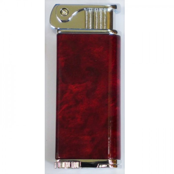 "COOL ""Eric's Pipe Pfeifenfeuerzeug rot-marmoriert #224806s"