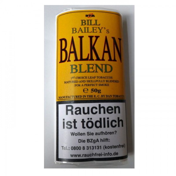 BILL BAILEY´S BALKAN BLEND by Dan Tobacco
