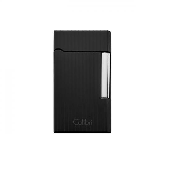 COLIBRI Wellington II schwarz matt Längsstreifen 290031