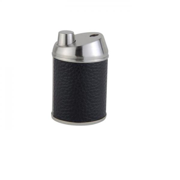 JEAN CLAUDE Tischfeuerzeug 1er Jet Lederoptik schwarz-nickel #244731
