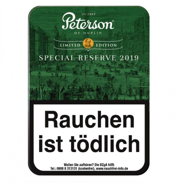 PETERSON SPECIAL RESERVE Limited Edition 2019
