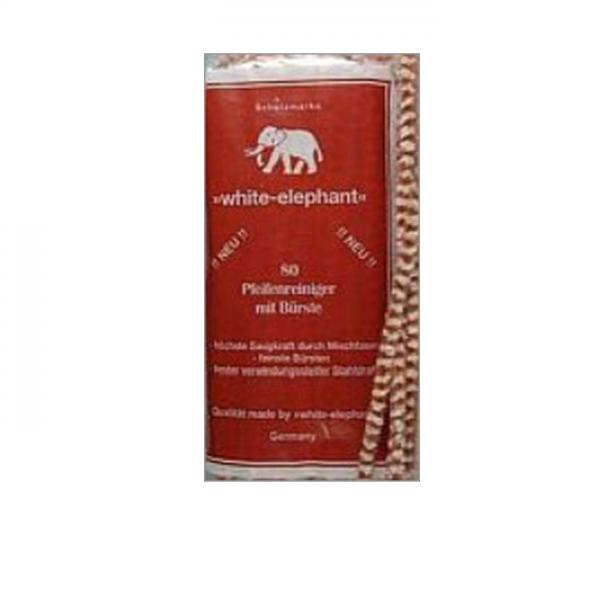 WHITE ELEPHANT Pfeifenreiniger braun-weiß