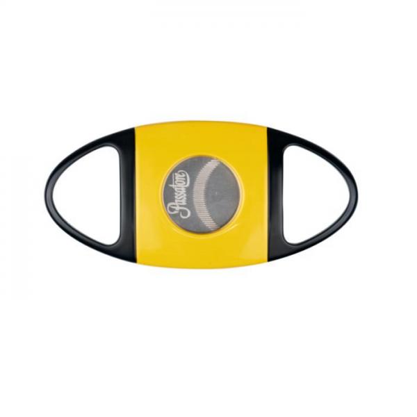 PASSATORE Cutter schwarz-gelb mit gezahnter Klinge #591683