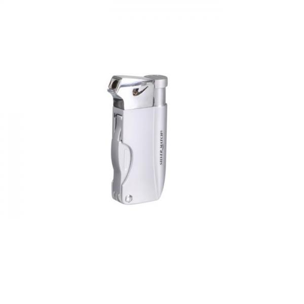 SILVER MATCH Pfeifenfeuerzeug Bayswater silberfarben #224422s